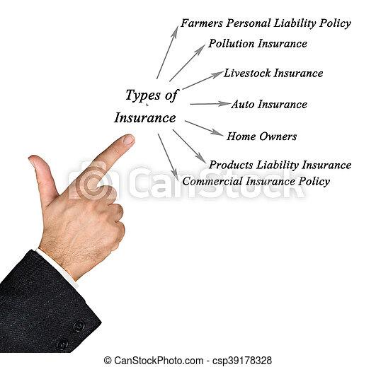 Types of Insurance - csp39178328