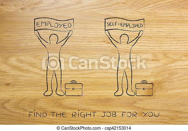 Self employed jobs for men