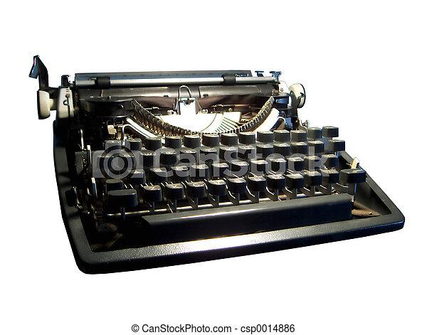 Typewriter Guts - csp0014886