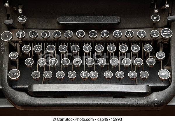 Image result for typewriter keyboard