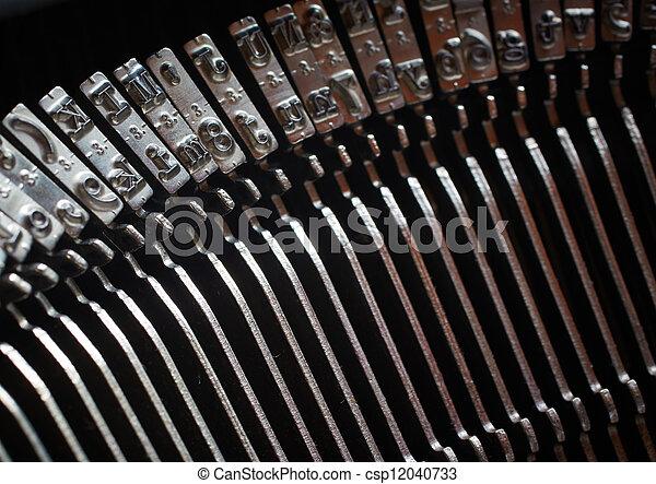 Typewriter Keys - csp12040733