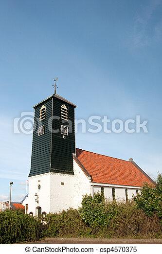 Typical Dutch church - csp4570375