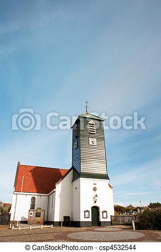Typical Dutch church - csp4532544
