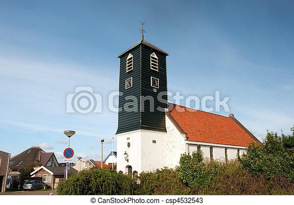 Typical Dutch church - csp4532543