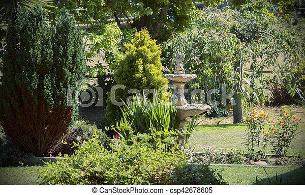 Typique jardin anglais typique d tail jardin anglais for Restaurant jardin anglais