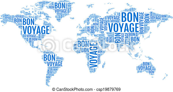 Typographic world map vector bon voyage typographic world map typographic world map vector gumiabroncs Images