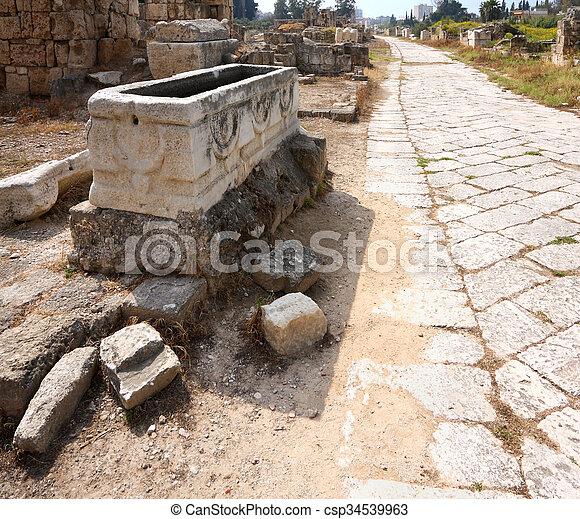 Tyre, Lebanon - csp34539963