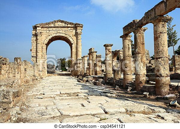 Tyre, Lebanon - csp34541121