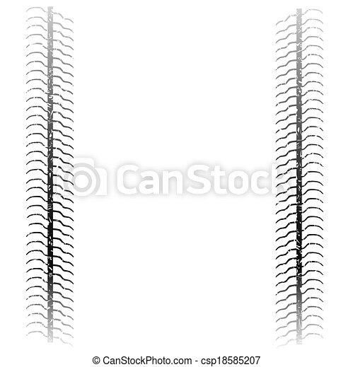 Tyre Tread - csp18585207