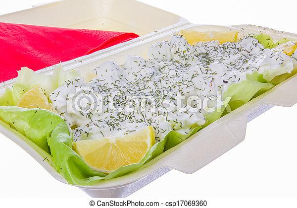 tzatziki salad - csp17069360
