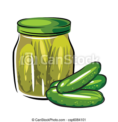 u0441anned pickles vector image of canned pickles in the vector rh canstockphoto com pickle clip art images pickle clipart images