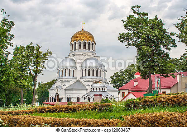 ucraina, nevsky, kamianets-podilskyi, alessandro, cattedrale - csp12060467