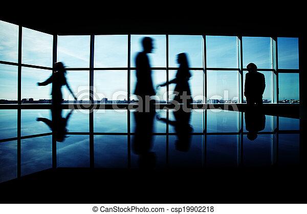ufficio affari, persone - csp19902218