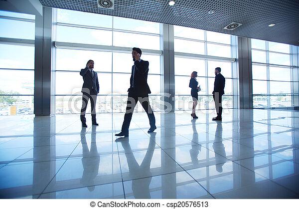 ufficio affari, persone - csp20576513