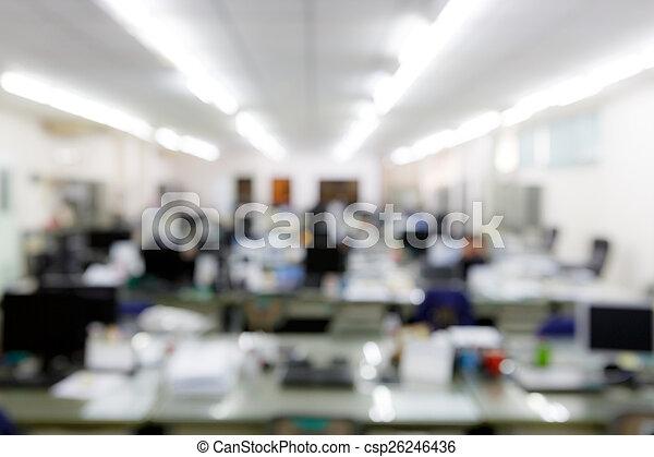 ufficio, sfocato - csp26246436