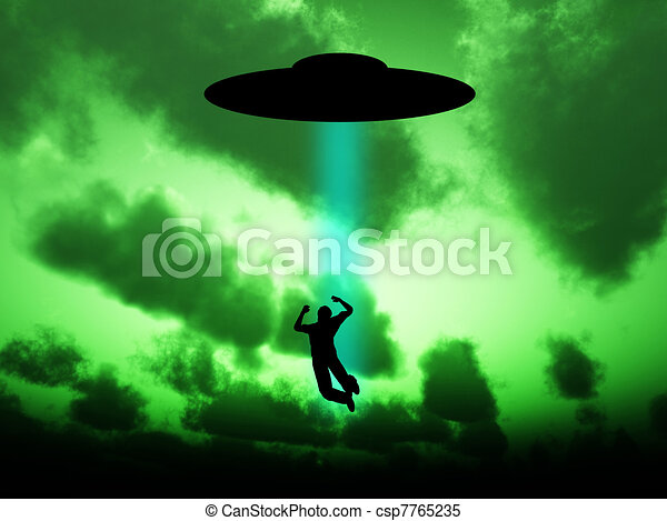 UFO Abduction - csp7765235