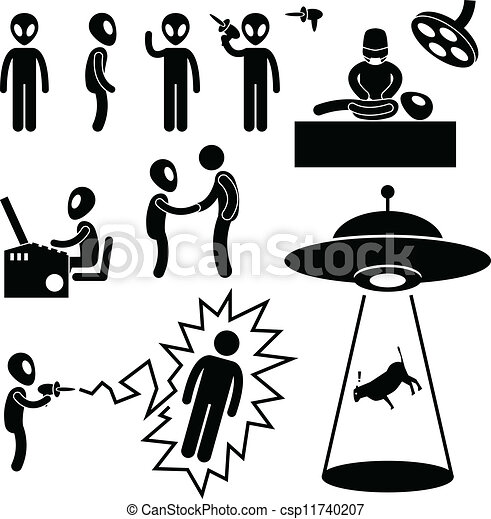 UFO Alien Invaders - csp11740207