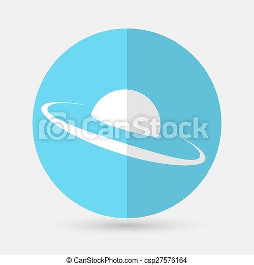 UFO Icon - csp27576164