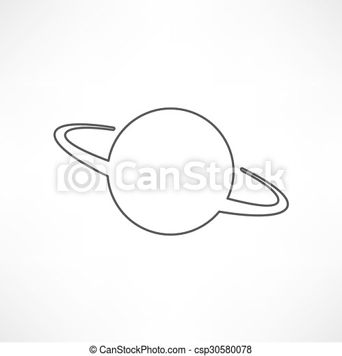 UFO Icon - csp30580078