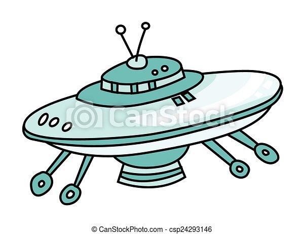 UFO ship  - csp24293146