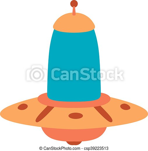 ufo spaceship vector isolated ufo craft plane and space vector rh canstockphoto com spaceship vector free download spaceship vector png