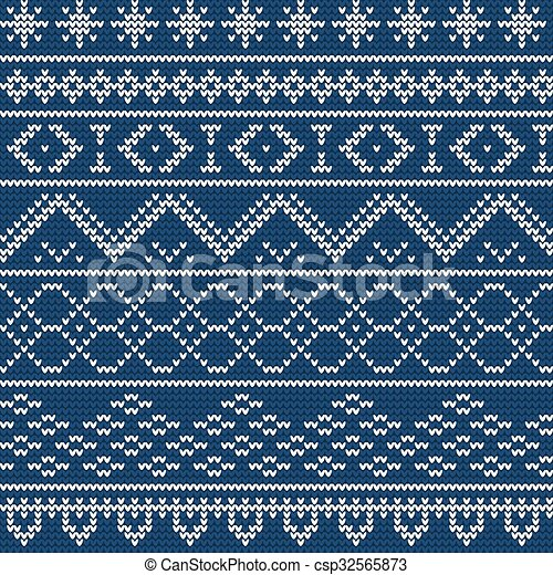 Ugly sweater Background 1 - csp32565873