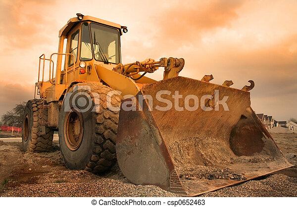 uitrusting, bouwsector - csp0652463