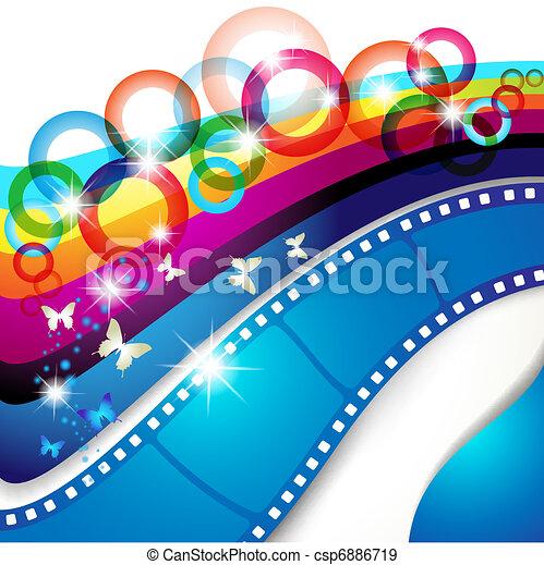 układa, film - csp6886719