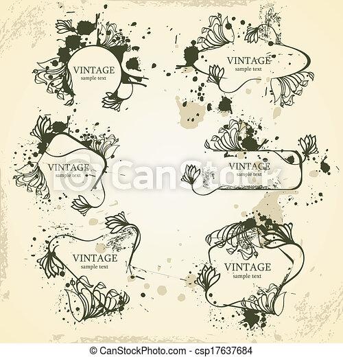 układa, rocznik wina - csp17637684