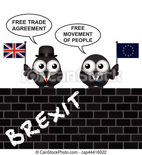 Uk Brexit Trade Agreement Comical United Kingdom Brexit Trade