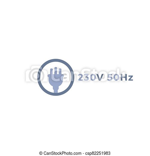 uk electric plug icon, vector sign - csp82251983