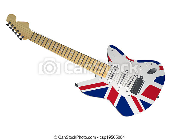 UK guitar - csp19505084