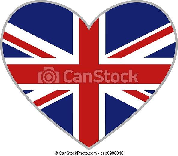 uk heart - csp0988046
