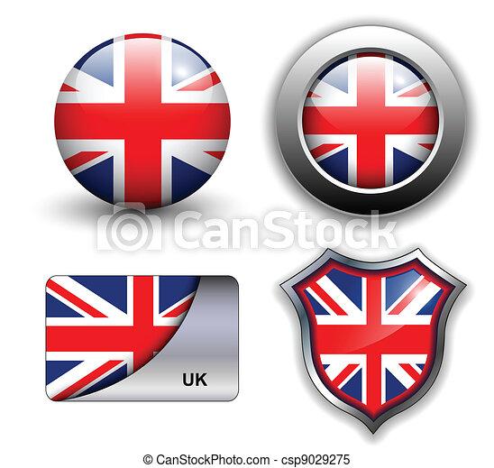 uk icons - csp9029275