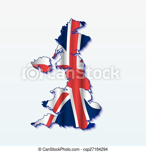 UK map - csp27184294