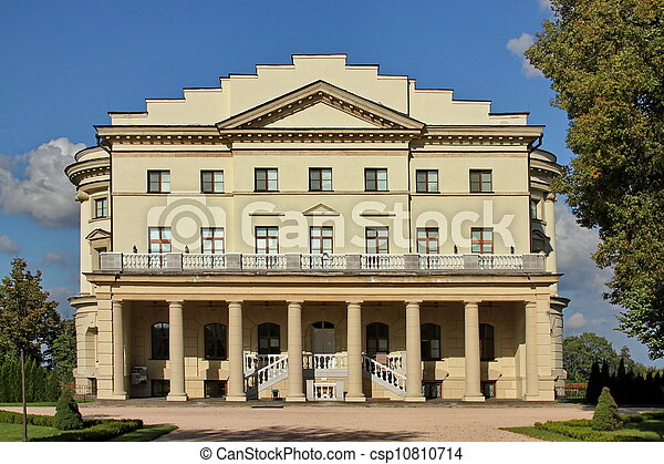 Ukraine. Museum. Palace. - csp10810714
