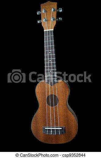 Ukulele guitar on background - csp9352844