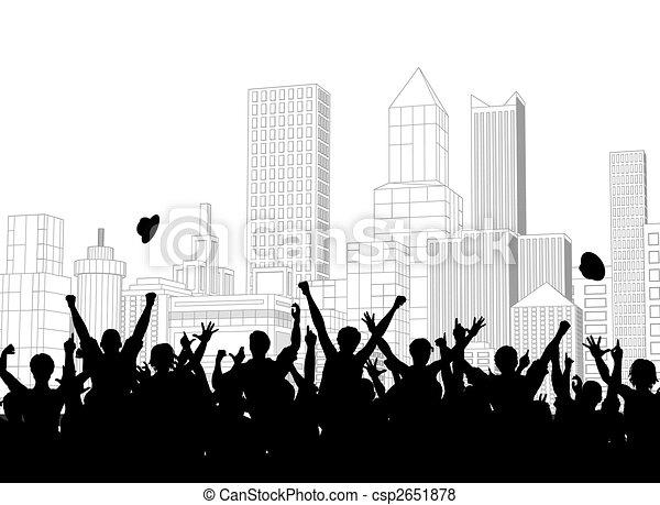 ulica, celebrowanie - csp2651878