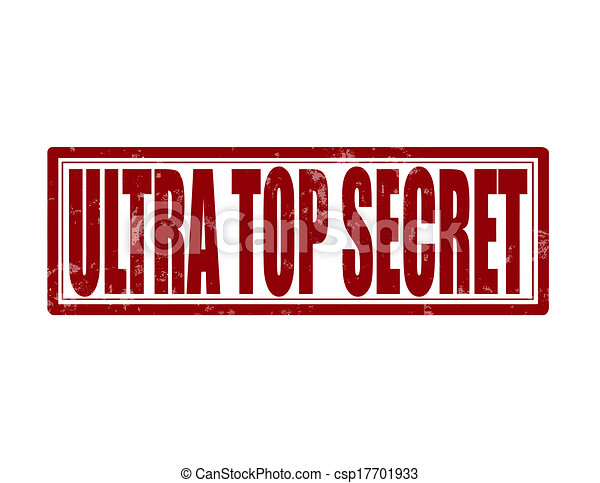 stamp with text ultra top secret inside vector illustration vectors rh canstockphoto com top secret clipart top secret mission clipart