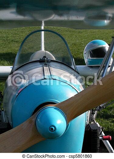 Ultralight airplane - csp5801860