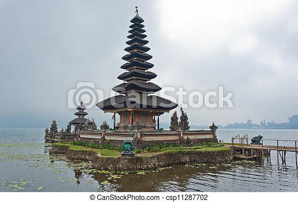 Ulun Danu Bratan temple - csp11287702