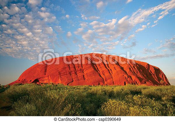 uluru, (ayers, rock) - csp0390649