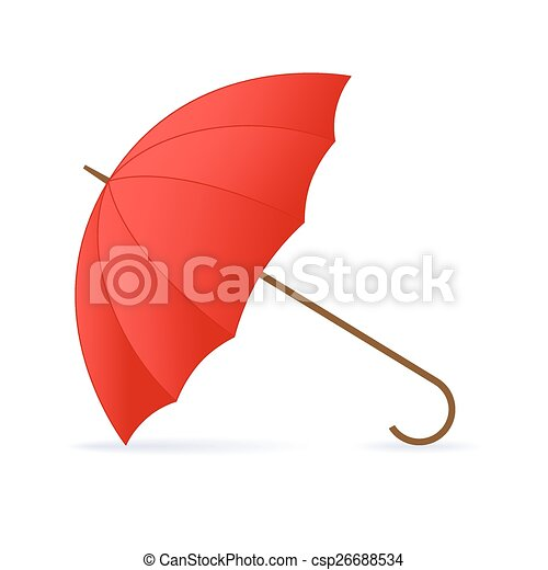 umbrella., rouges - csp26688534