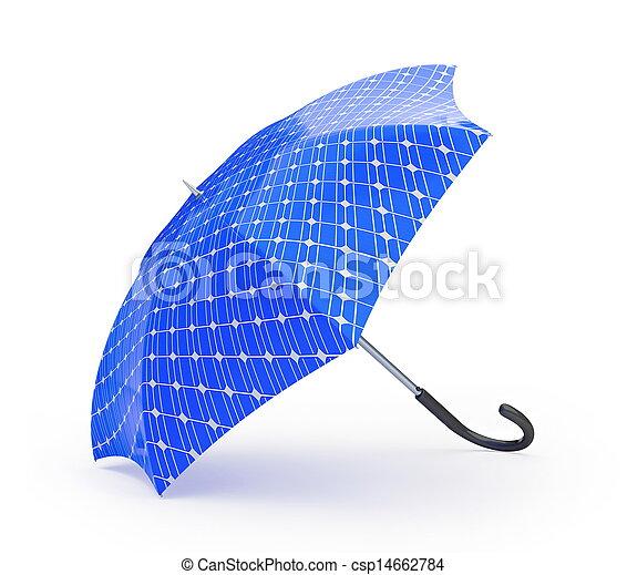 umbrella solar panel - csp14662784