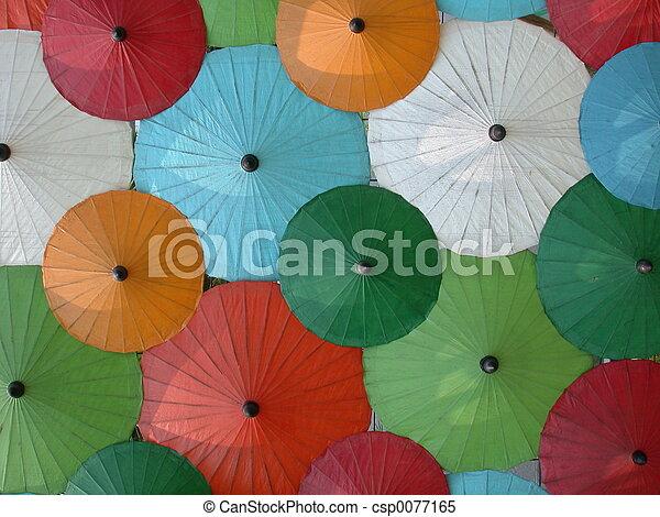 umbrella's, asiatico - csp0077165