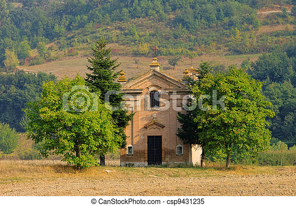 Umbria chapel - csp9431235