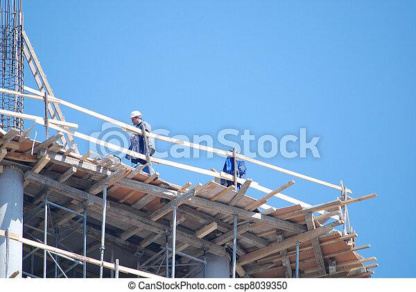 umieszczenie zbudowania - csp8039350