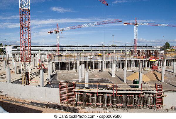 umieszczenie zbudowania - csp6209586