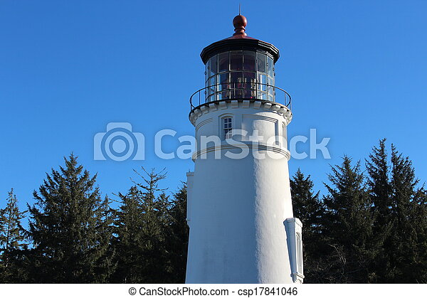 Umpqua Lighthouse Oregon Coast - csp17841046