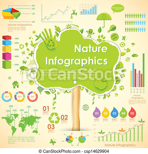 Umweltinfographie - csp14629904